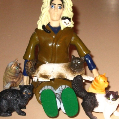 In Defense Of The Crazy Cat Lady
