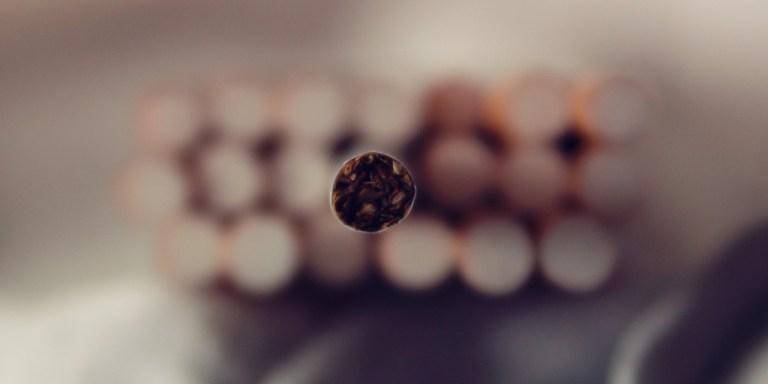 Social Stigma Giving CigarettesCancer
