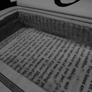 I Found A Note Hidden Inside This Hollowed-Out Book From A State Prison