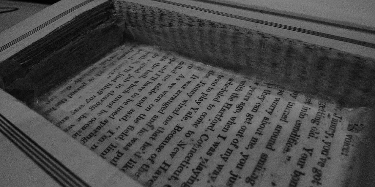 I Found A Note Hidden Inside This Hollowed-Out Book From A StatePrison