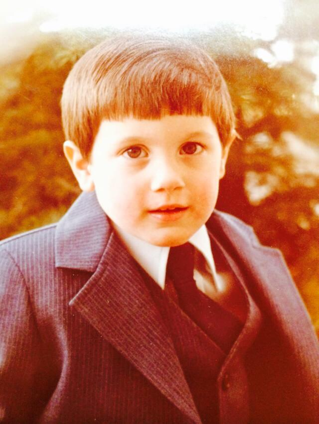 Danny when he was young.