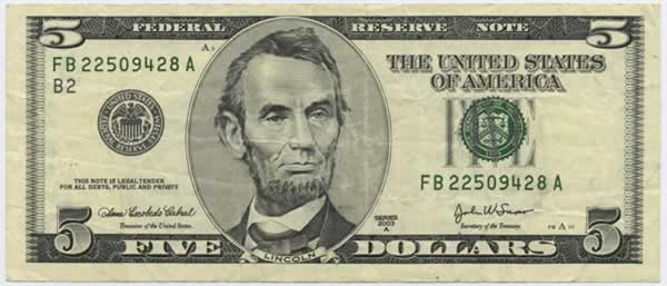Will You Take This $5 Bill For A $1 Bill?