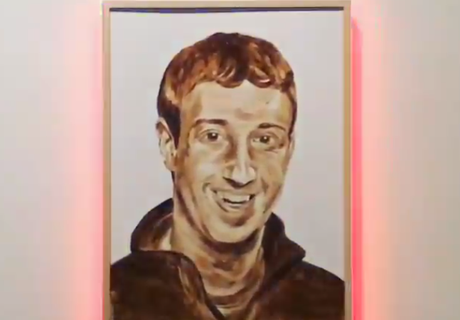 Brooklyn Artist KATSU Paints Facebook Mogul Mark Zuckerberg Using Human Poop