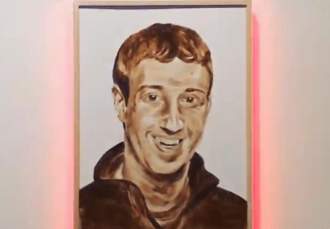 Brooklyn Artist KATSU Paints Facebook Mogul Mark Zuckerberg Using HumanPoop