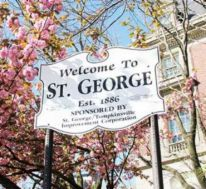 st. george si sign