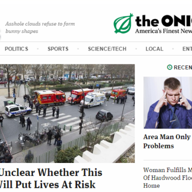 Former Editor For 'The Onion' Gets Serious On Free Speech And Tragedy Of Charlie Hebdo