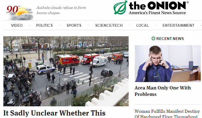 Former Editor For 'The Onion' Gets Serious On Free Speech And Tragedy Of CharlieHebdo