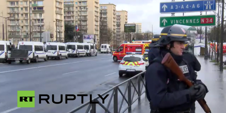 Livestream And Summary: Charlie Hebdo Killers Take Hostages While French Police SurroundThem
