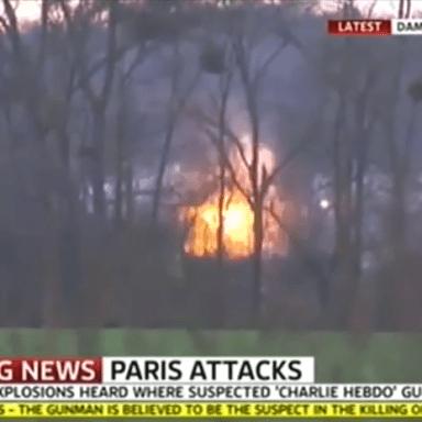 French Police Raid/Kill Charlie Hebdo Murderers, Save Hostages