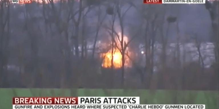 French Police Raid/Kill Charlie Hebdo Murderers, SaveHostages