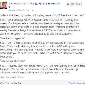 Former Contestant Reveals The Terrifying Secrets Behind NBC's 'The Biggest Loser'