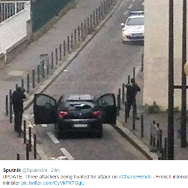 Islamic Militants Murder 12 At French Satirical Newspaper That Lampooned Extremist Islam
