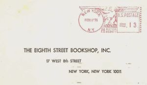 1975 eighth st bookshop letter