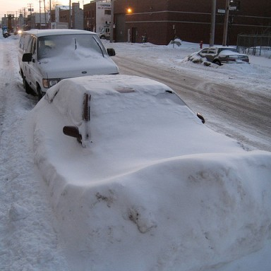 New Yorker Steals Boston Resident's Snow Spot, Pays Dearly For It