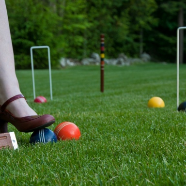 My Husband And I Reconnected During A Bizarre Round Of Croquet
