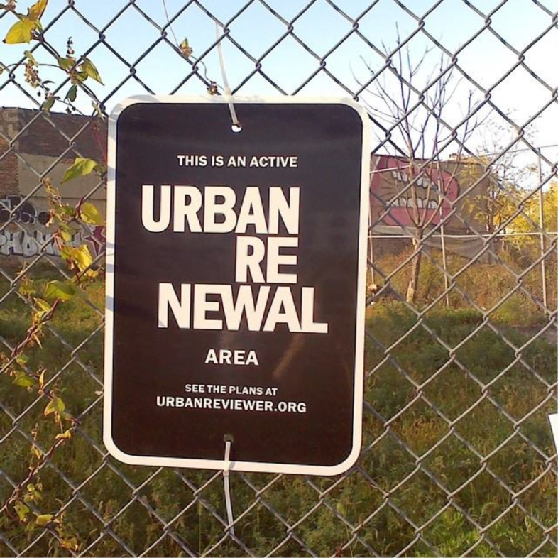Photos of site at BroadwayTriangle in Brooklyn, NYC Jenny Akchin, http://596acres.org/en/lot/3022720052/