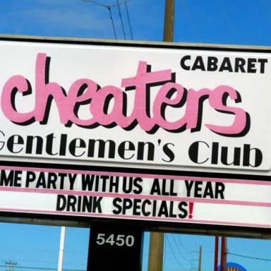 64 Thoughts I Had During My First Strip Club Experience