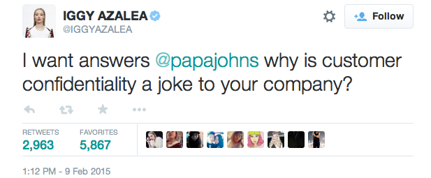 5 Iggy Azalea Internet Feuds That Are More Shocking Than Her Beef With PapaJohn's