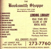 late may 74 booksmith shoppe