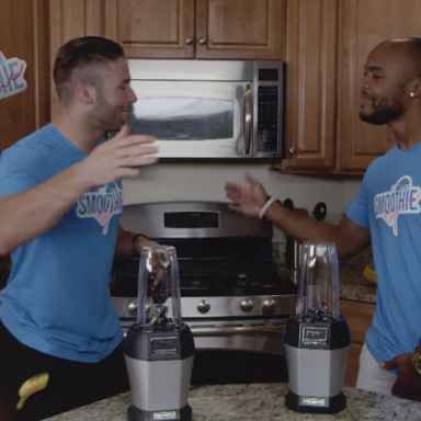 Smoothie Brothers: The Unlikely Tale Of Two Football Stars Who Blended A Friendship