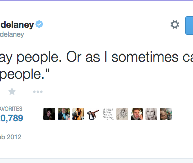 17 Of The Funniest Rob Delaney Tweets Of All Time