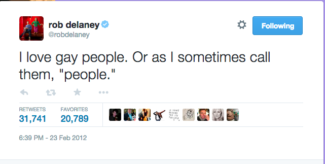 17 Of The Funniest Rob Delaney Tweets Of AllTime