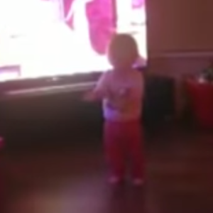 Creepy Footage Captures Invisible Force Pushing This Little Girl On To The Floor