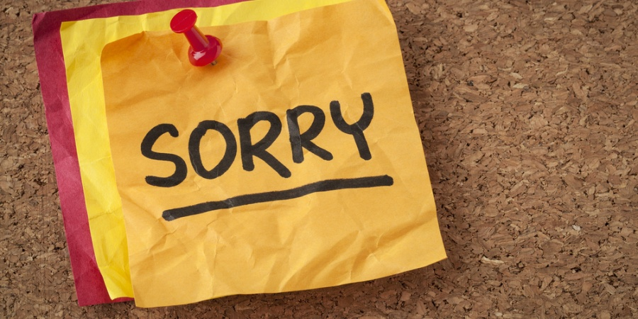 Why We Should Stop SayingSorry