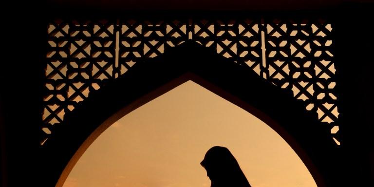 My Hijab Feels As Heavy As MyHeart