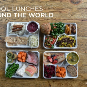 9 Delicious-Looking Photos Of School Lunches From Around The World