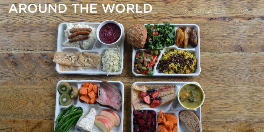 9 Delicious-Looking Photos Of School Lunches From Around TheWorld