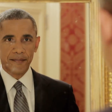 Why Does President Obama Have The Filthiest Mirror In The Entire Country?