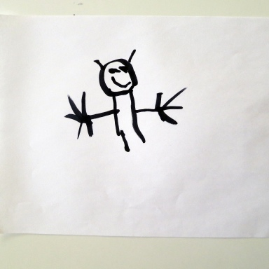 My Daughter Loves To Draw, But I Can't Figure Out Why She Keeps Drawing Pictures Of This Monster