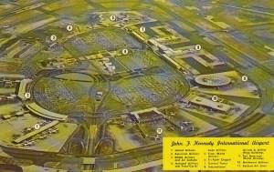 1974 JFK postcard