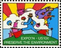 1974 us stamp environment expo 74