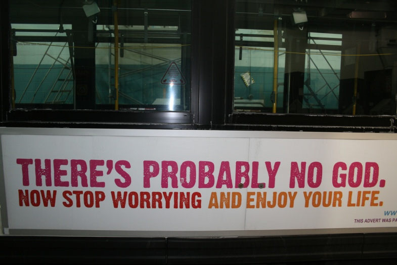 Flickr / Canadian Atheist Bus Campaign