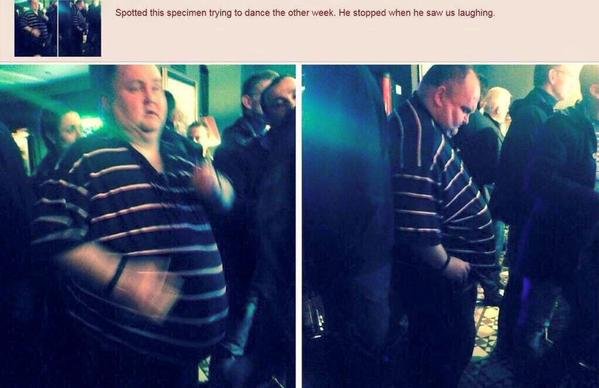 A Man Body Shamed While Dancing Is Having A Party Thrown Just ForHim
