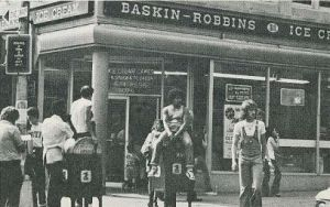 Early August 74 Aug 3 end baskin-robbins montague st