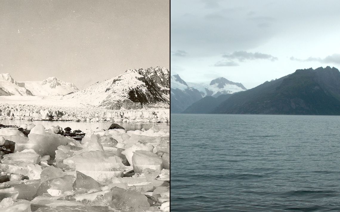 Northwestern Glacier. With few exceptions, glaciers around the world have retreated at unprecedented rates over the last century.