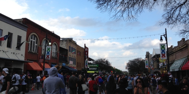 6 Thoughts On Sixth Street During#SXSW