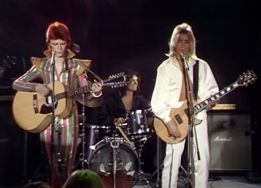 Late August 1974 Aug 23 Bowie TV show