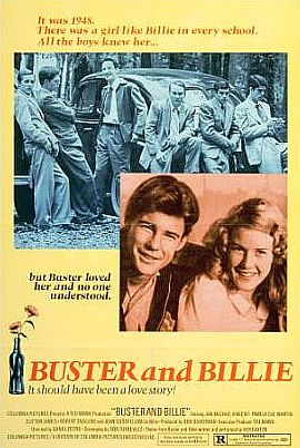 Late August 1974 Buster and Billie poster