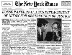 late july 74 july 28 nyt impeachment vote