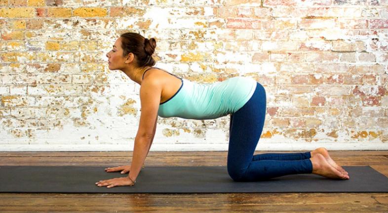 Yoga.com / Cow Pose