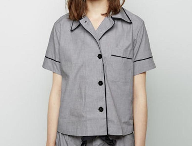 Araks Shelby pajama top / LaGarconne.com.