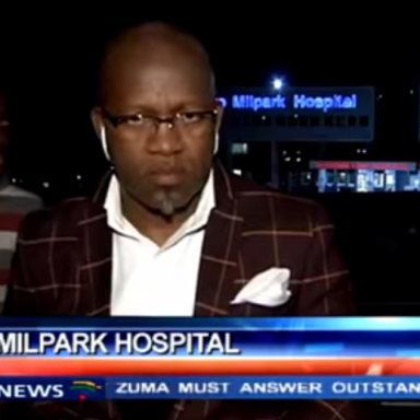 A Famous TV Reporter Was Mugged On Camera In South Africa
