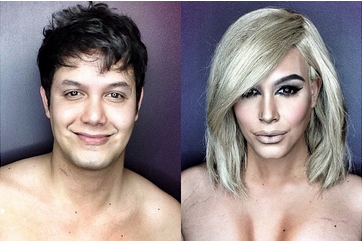 WTF Is This Sorcery? Watch A Makeup Artist Turn Himself Into KimK.