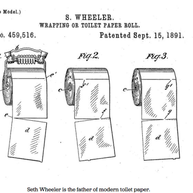 You Were Right All Along: The Inventor Of Toilet Paper Says It Should Roll OVER, Not Under