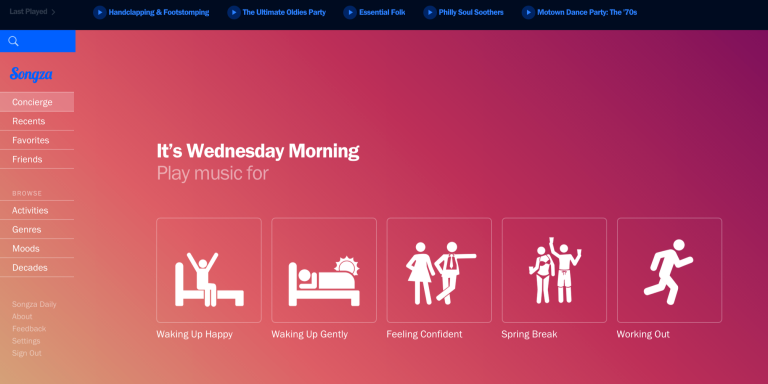 7 Songza Stations You Didn't Know You Needed In YourLife