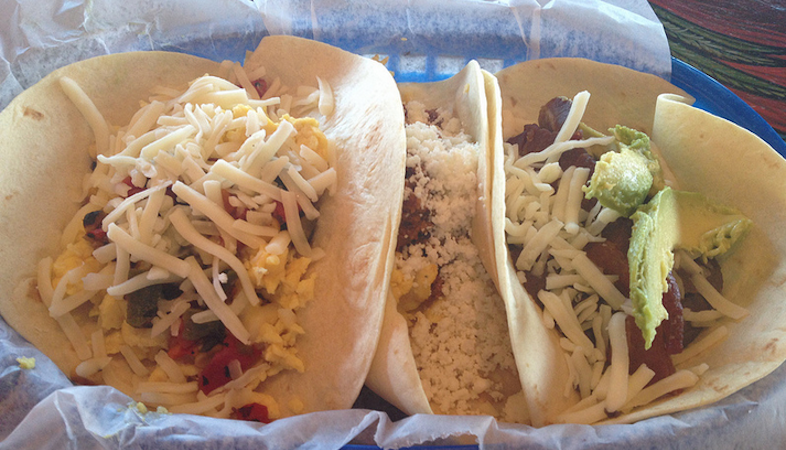 Don't Mess With Breakfast Tacos In Texas
